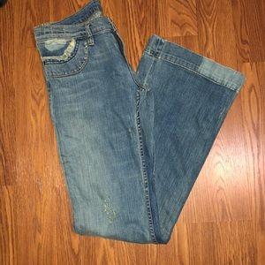 Swarovski embellished Express Jeans